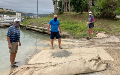 Fixing the Marina Slipway